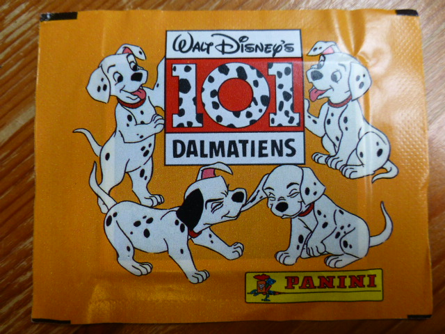 Panini 101 Dalmatians Sticker Pack