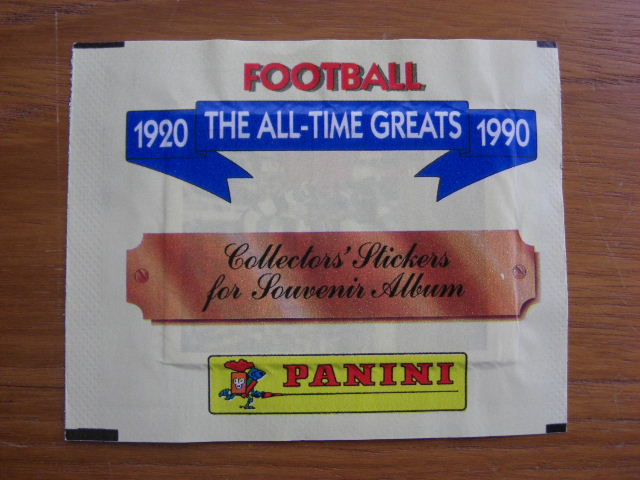 Panini All Time Greats - Unopened Sticker Pack