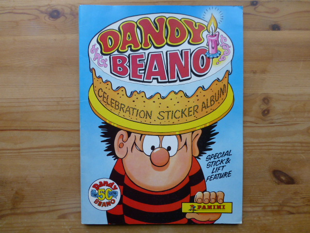 Panini Dandy & Beano Celebration - Complete Album (01)