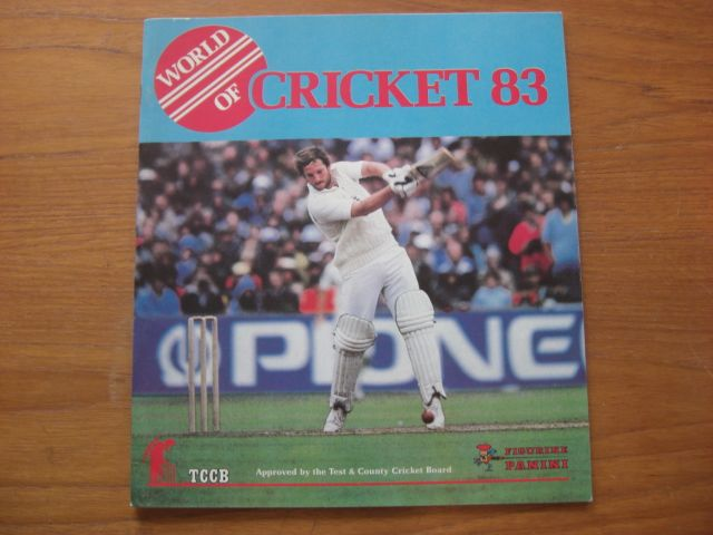 Panini World Of Cricket 83 Empty Album (01)