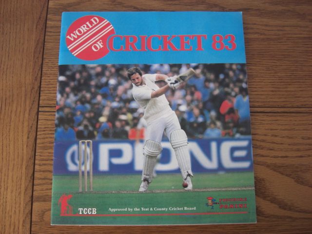 Panini World Of Cricket 83 Empty Album (02)