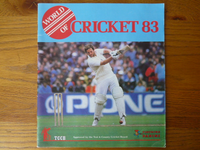 Panini World Of Cricket 83 Empty Album (03)