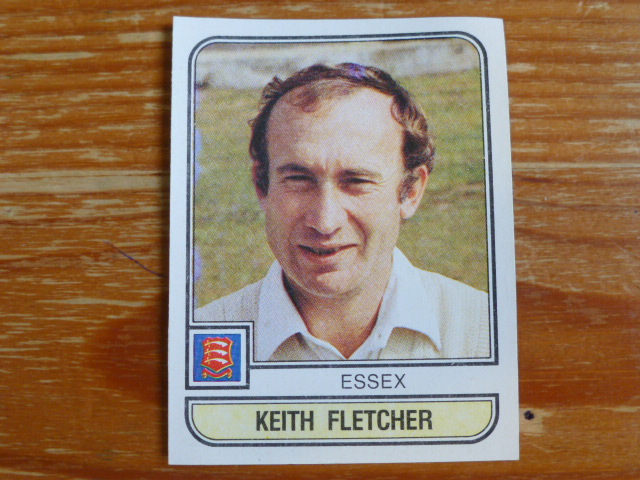 Panini World Of Cricket 83 - Keith Fletcher