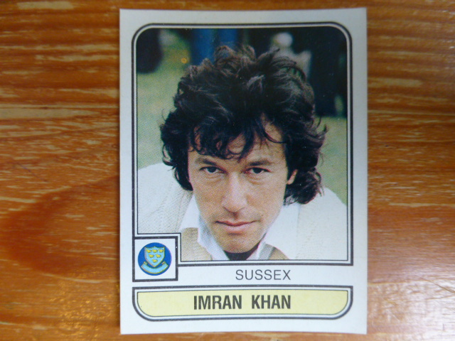 Panini World Of Cricket 83 - Imran Khan