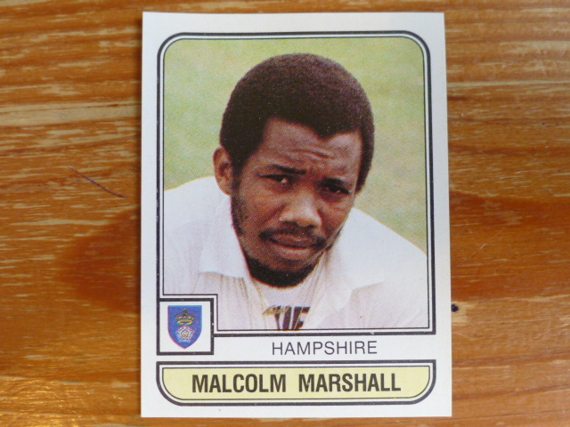 Panini World Of Cricket 83 - Malcolm Marshall