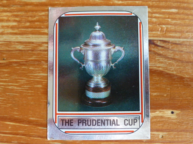 Panini World Of Cricket 83 - The Prudential Cup