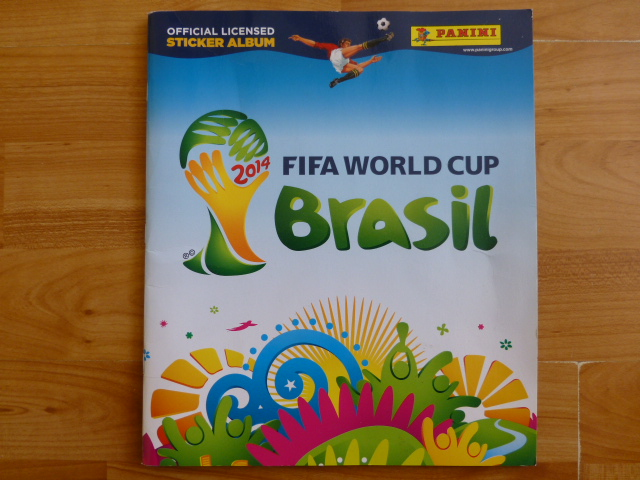 Panini World Cup 2014 Incomplete Album