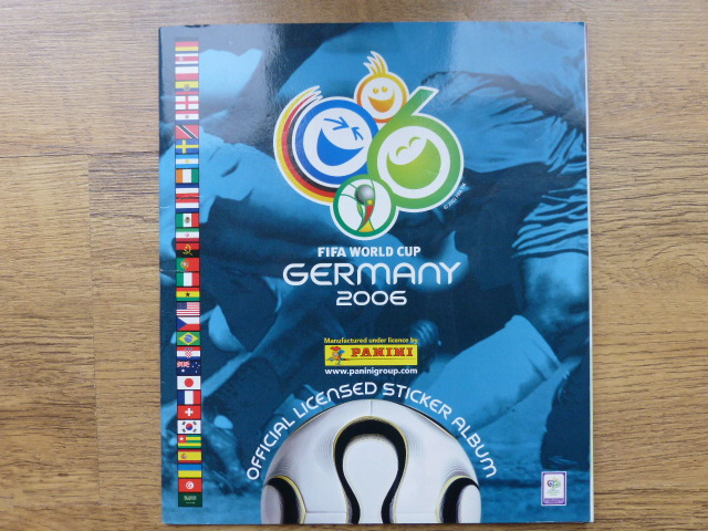 Panini World Cup 2006 Incomplete Album