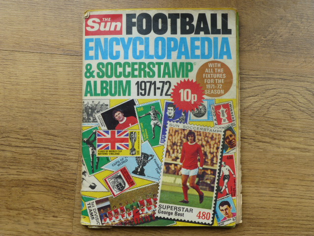 The Sun Football Encyclopaedia & Picturestamp Complete Album