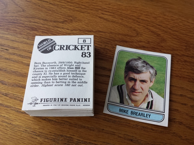 Panini World Of Cricket 83 - Individual Stickers