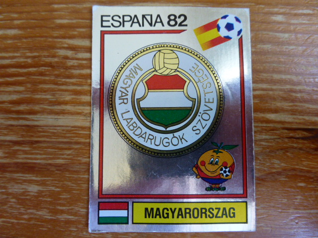 Panini Espana 82 Badge - Hungary