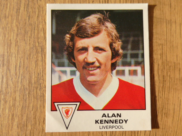 Panini Football 80 Sticker - Alan Kennedy