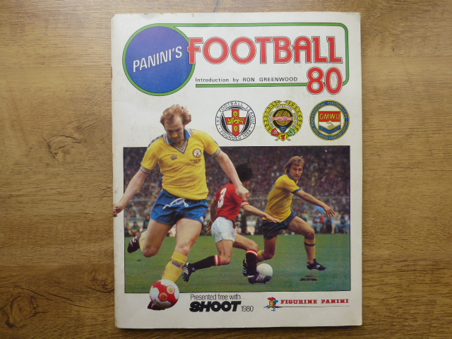 Panini Football 80 Complete Sticker Album (01)