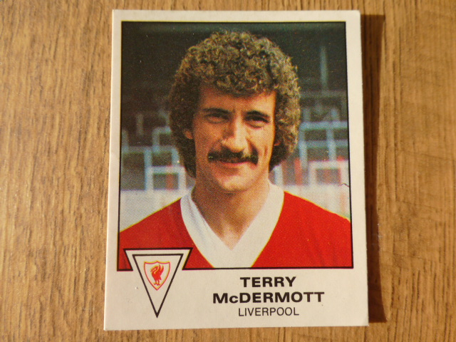 Panini Football 80 Sticker - Terry McDermott