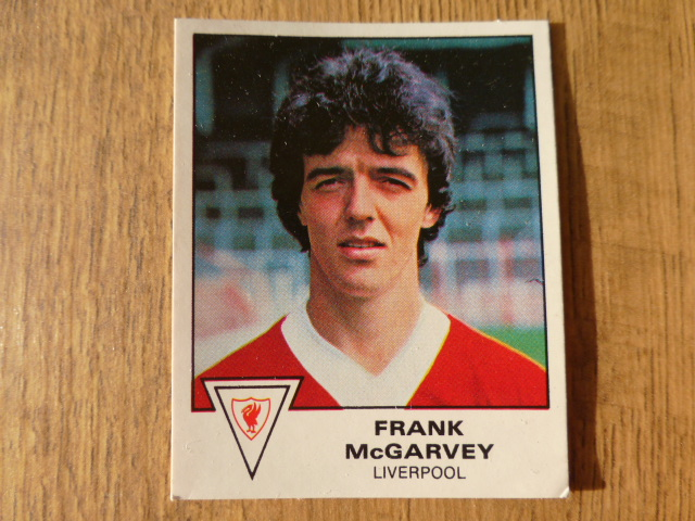Panini Football 80 Sticker - Frank McGarvey