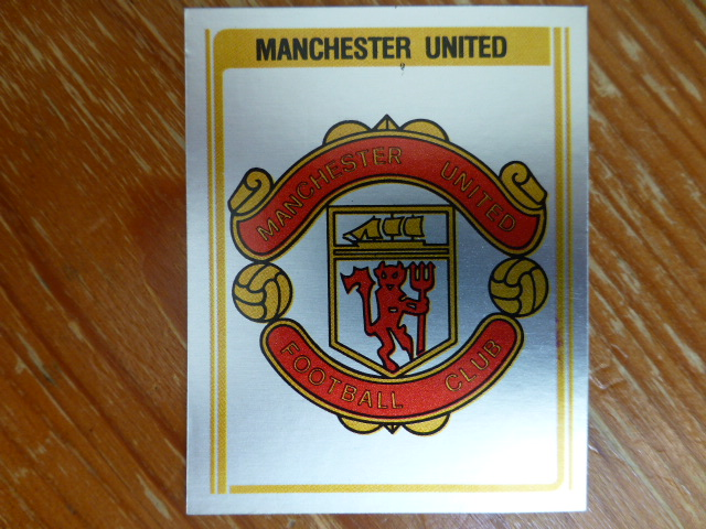 Panini Football 80 Badge - Manchester United