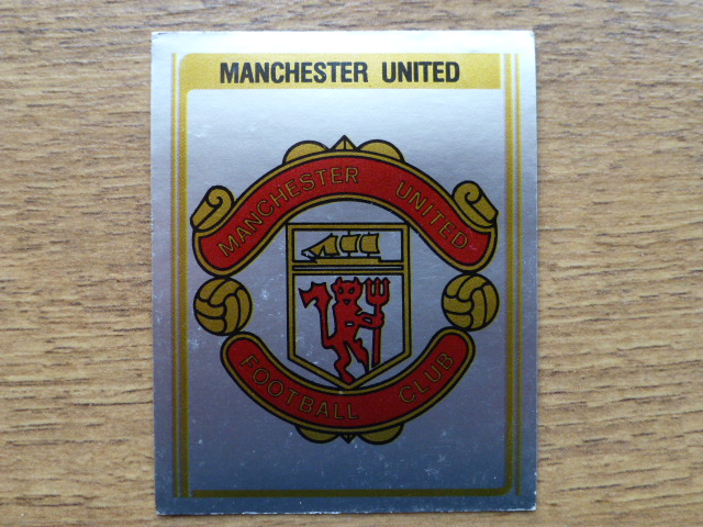 Panini Football 80 Badge - Manchester United (1)
