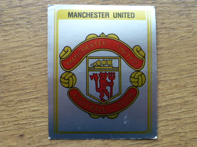 Panini Football 80 Badge - Manchester United (2)