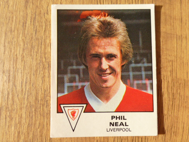 Panini Football 80 Sticker - Phil Neal