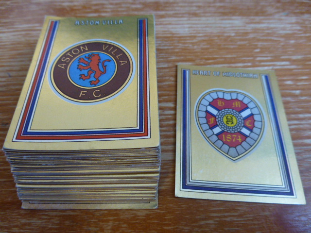 Panini Football 81 Foil Badges