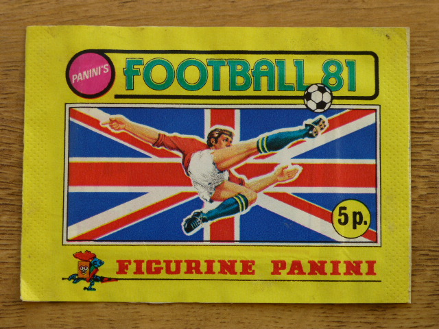 Panini Football 81 Sticker Pack