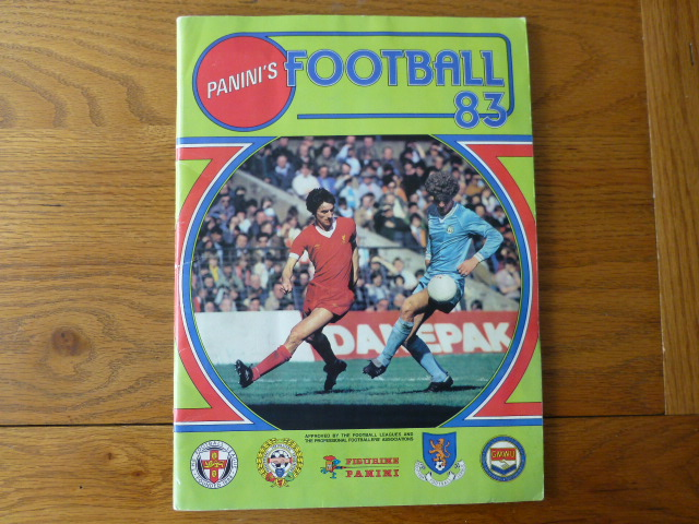 Panini Football 83 Complete Sticker Album (02)