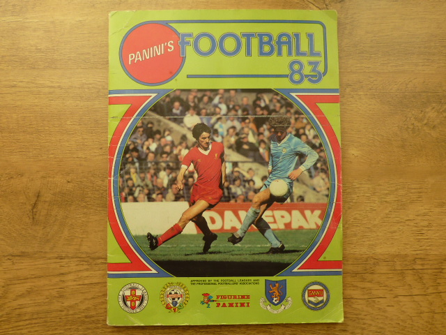 Panini Football 83 Complete Sticker Album (03)