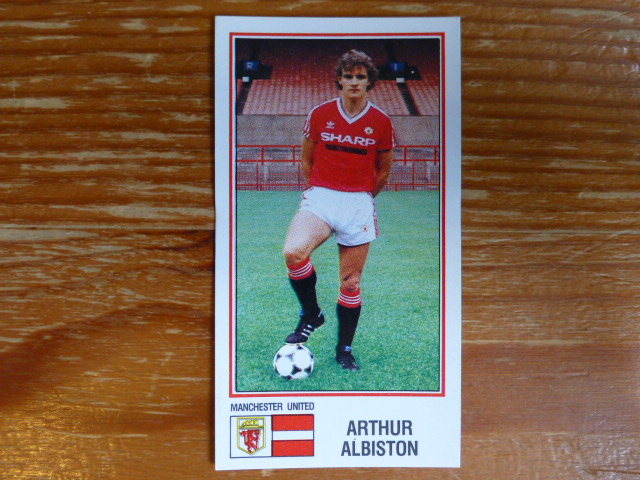Panini Football 83 Sticker - Arthur Albiston