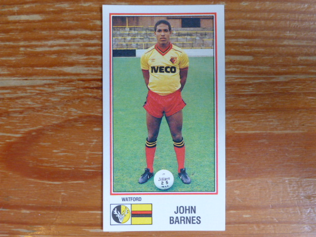 Panini Football 83 Sticker - John Barnes