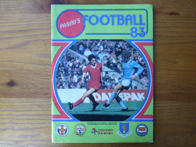 Panini Football 83 Empty Album (03)