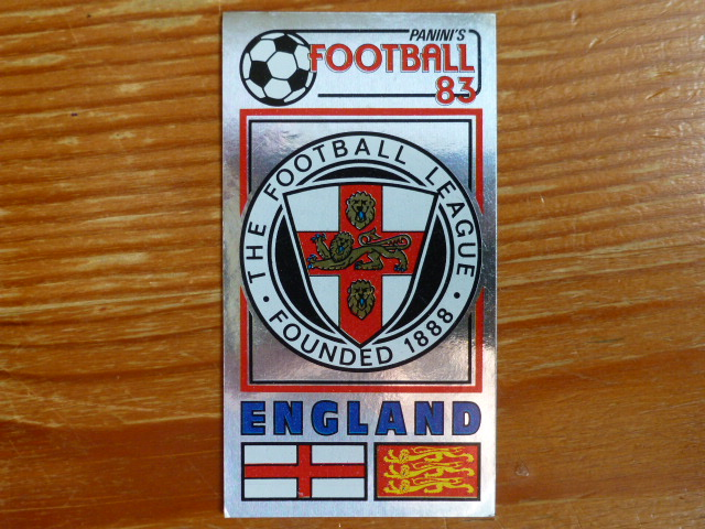 Panini Football 83 Badge - The Football League