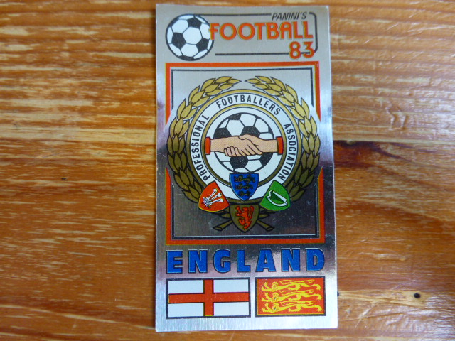 Panini Football 83 Badge - The Players Football Association