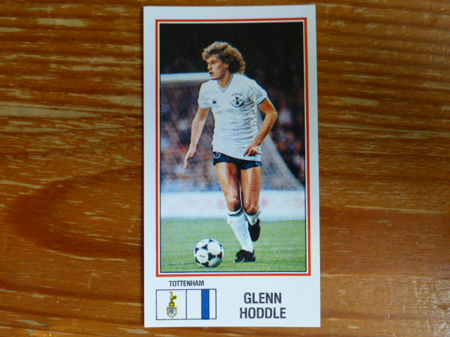 Panini Football 83 Sticker - Glenn Hoddle