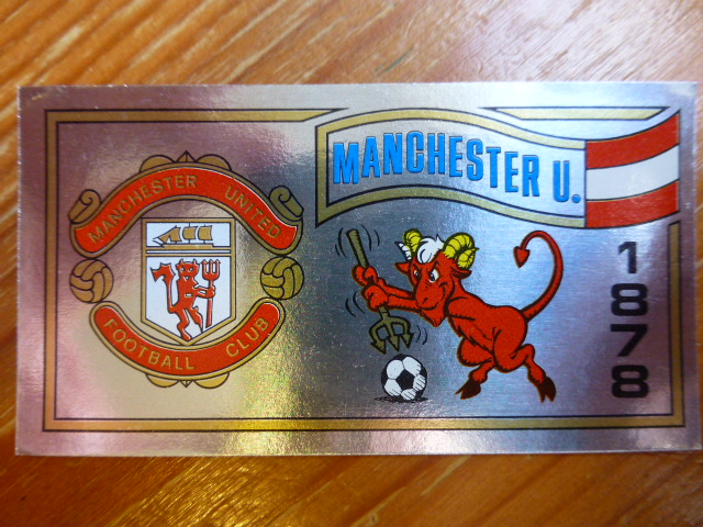 Panini Football 83 Badge - Manchester United