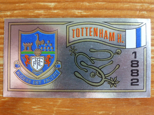 Panini Football 83 Badge - Tottenham Hotspur