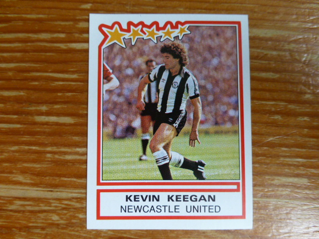 Panini Football 84 Sticker - Kevin Keegan
