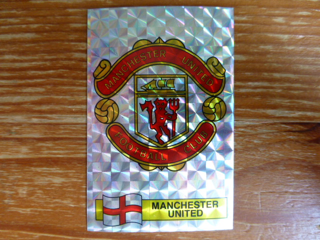 Panini Football 86 Badge - Manchester United