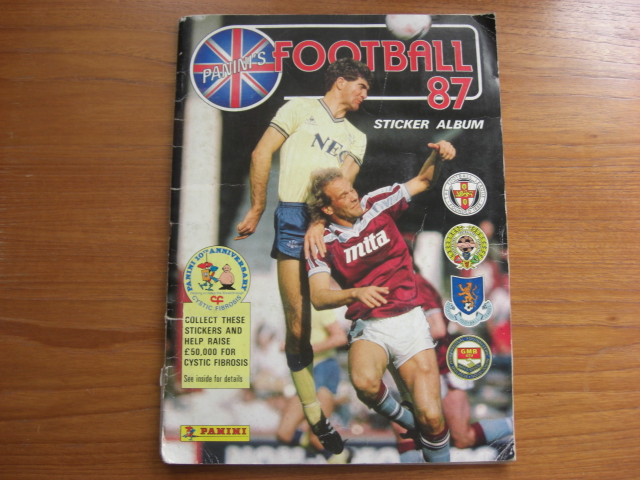 Panini Football 87 Complete Album (03)