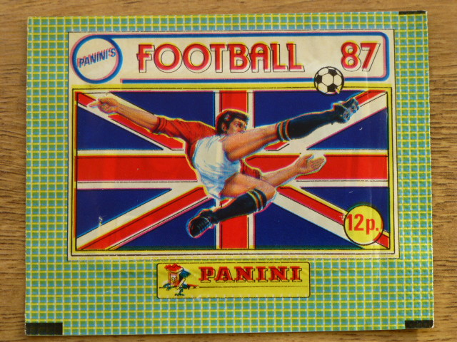 Panini Football 87 Sticker Pack