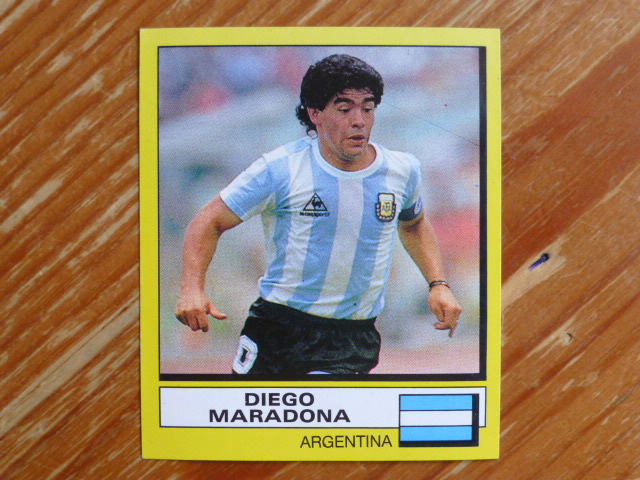 Panini Football 88 Sticker - Diego Maradona