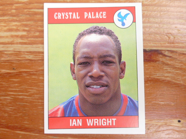 Panini Football 90 Sticker - Ian Wright