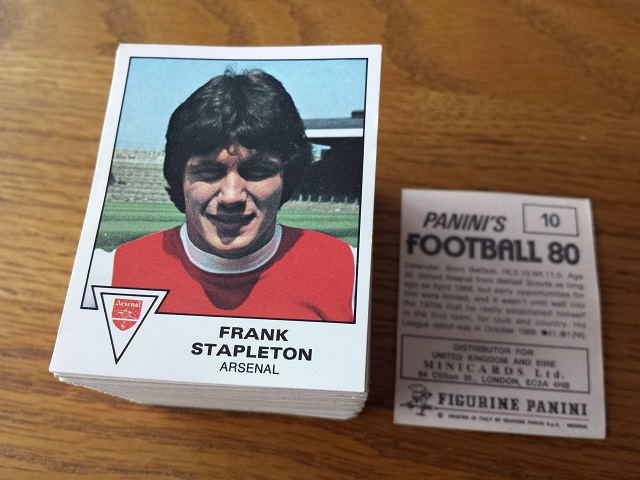 Panini Football 80 Loose Stickers