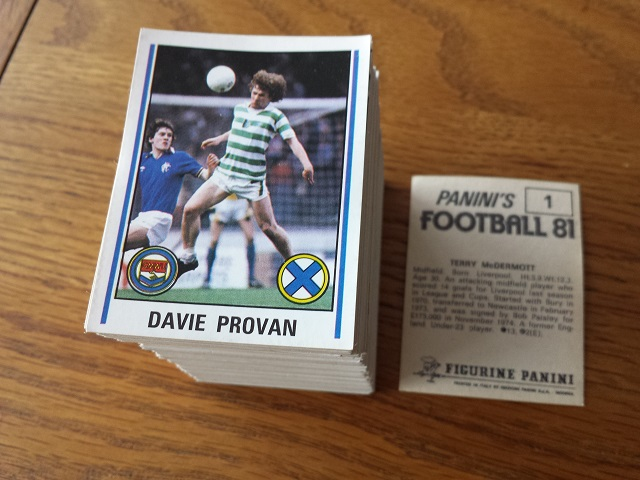 Panini Football 81 Loose Stickers