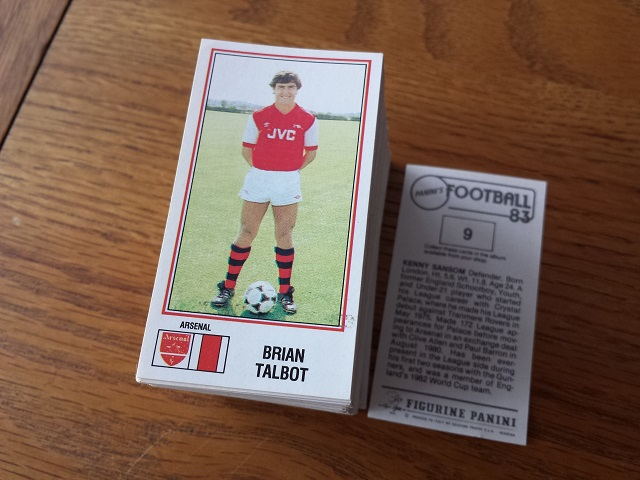 Panini Football 83 Individual Stickers