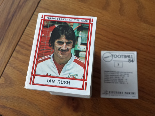 Panini Football 84 Individual Stickers