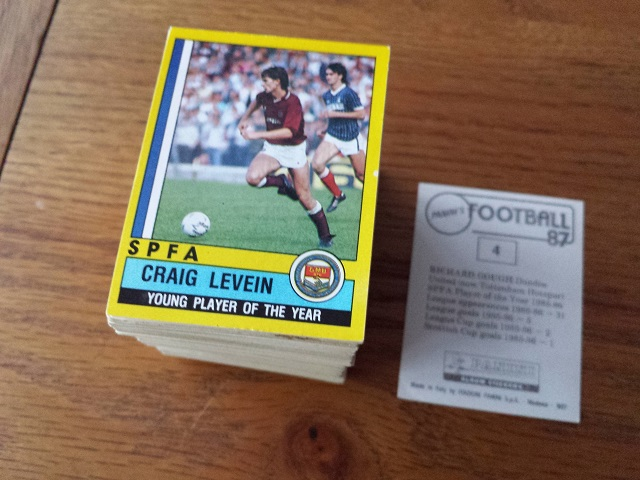 Panini Football 87 Individual Stickers