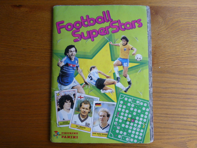 Panini Football Superstars Complete Album (01)