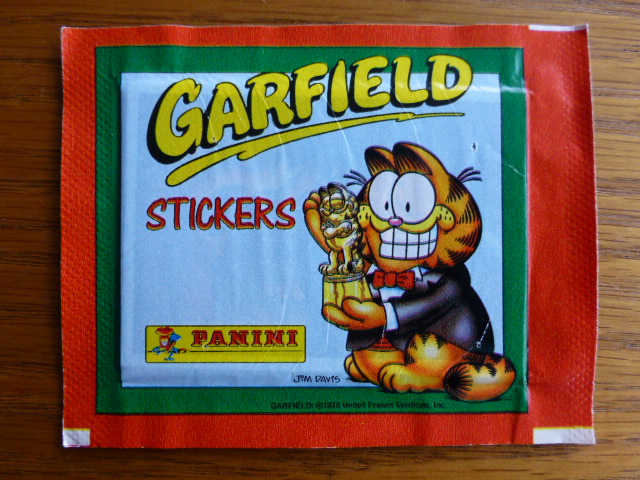 Panini Garfield Sticker Pack