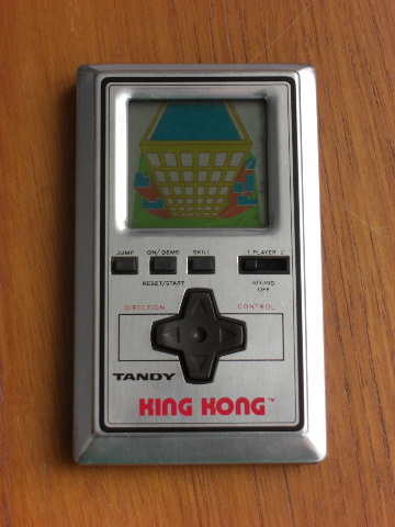 King Kong - Extremely rare handheld game from Tiger/Tandy