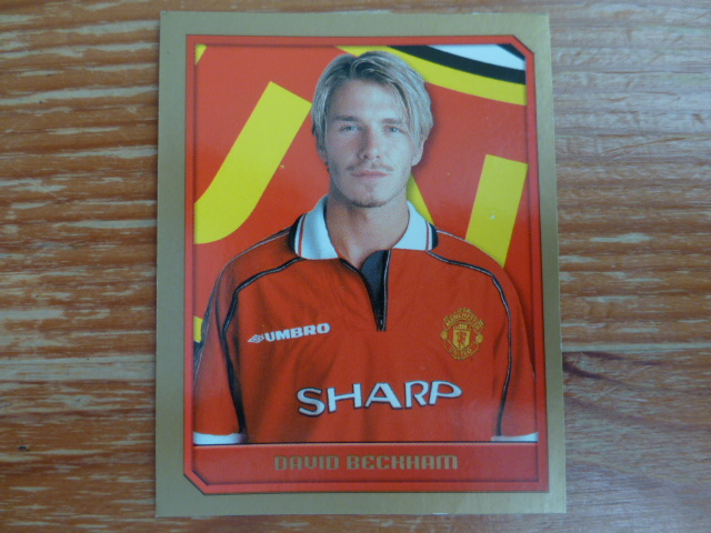 Merlin Premier League 2000 Sticker - Beckham
